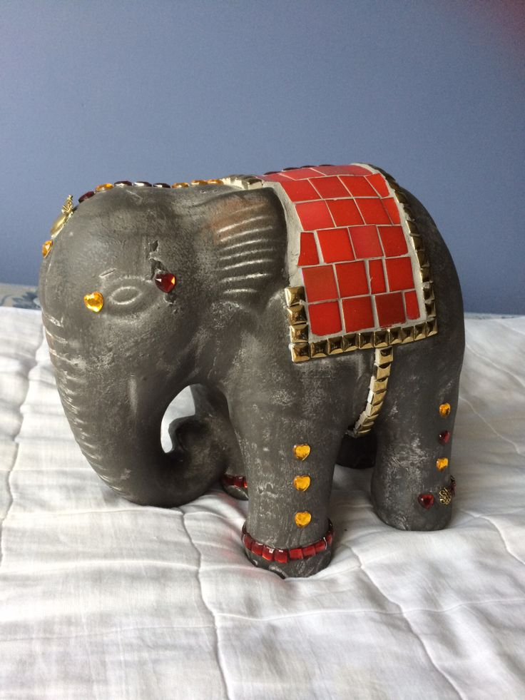 Elephant I mosaic end for my son with love