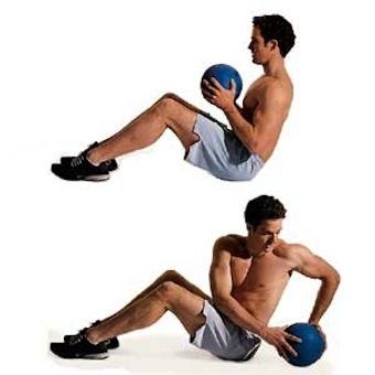 Entrenamientos con balón medicinal, leer aqui http://www.suplments.com/deportistas/entrenamientos-con-balon-medicinal/