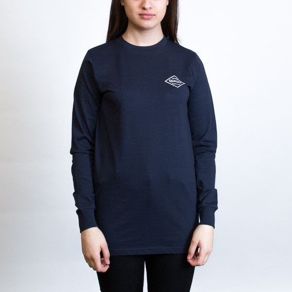 AS Colour Base Long Sleeve T-shirt Leavers Gear - The Print Room NZ - Navy