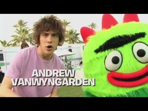 Andrew Van Wyngarden and Brobee