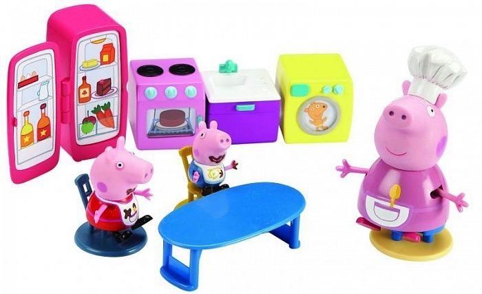 """Свинка Пеппа. Игровой набор арт.15560 """"Кухня Пеппы"""""""