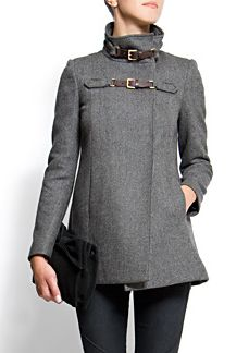 Gunmetal Gray coat- fall