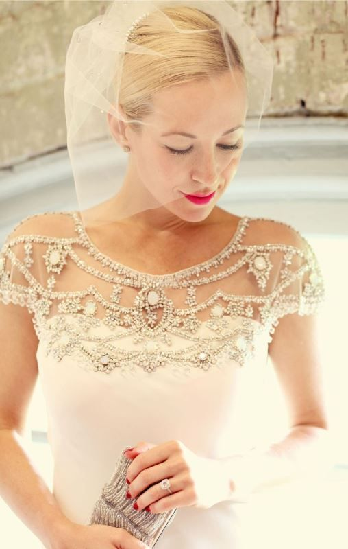20 Eye-Catching Bridal Shoulder Jewelry Pieces - Weddingomania