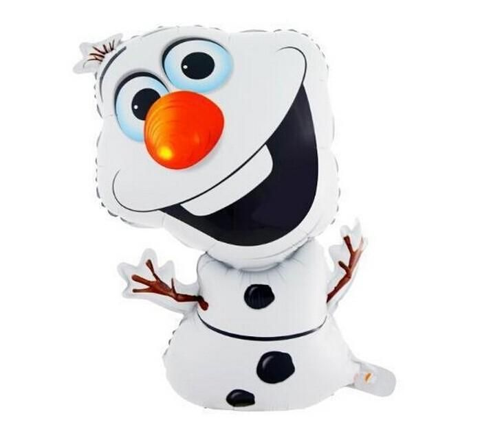 [Visit to Buy] 72*43cm Super shape Olaf snowman Birthday Party Wedding Christmas Day Decoration Olaf Foil Helium Balloon Supplies Kids Gift Toy #Advertisement