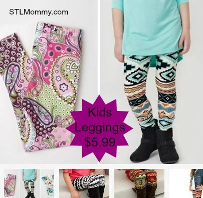 STL Mommy « Kids Printed Leggings (50 Styles To Choose From) $5.99