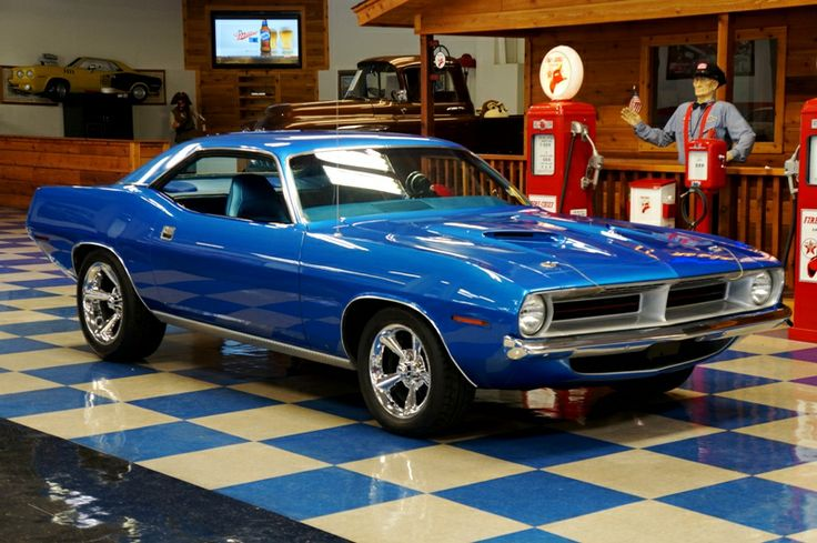 70 Plymouth Barracuda for Sale | ... : Classic Cars For Sale : 1970 Plymouth Cuda - Jamaica Blue Metallic