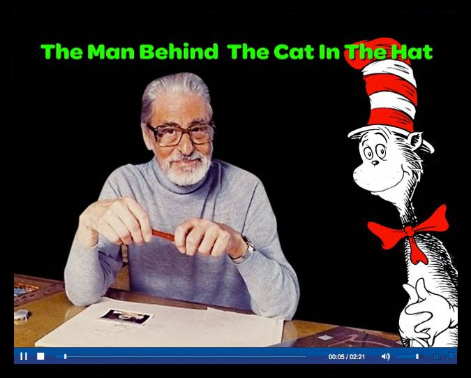 Short video about Dr. Seuss from Scholastic News. Perfect for early elementary.
