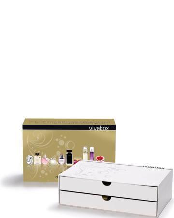 VIVABOX PARFUM VOOR HAAR : Deze Vivabox bevat  1 cadeaubon geldig voor één van de voorgestelde parfums en voor een nagellak ONLY YOU naar keuze. Plus 10 staaltjes om elk parfum te ontdekken en 1 kortingsbon van € 5 bij een aankoop van minimum € 50 bij ICI PARIS XL. #iciparisxl #vivabox #gift