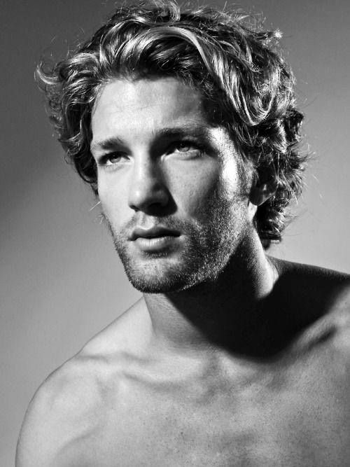 Beach hairstyles for men. Surfer hairstyles for men