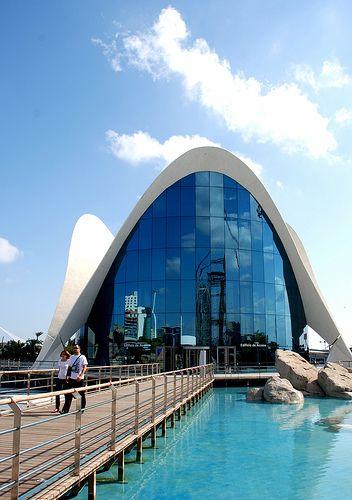 Valencia, Spain.  L'Oceanogràfic Aquarium