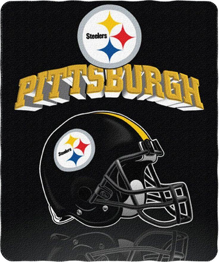 Pittsburgh Steelers Helmet Blanket