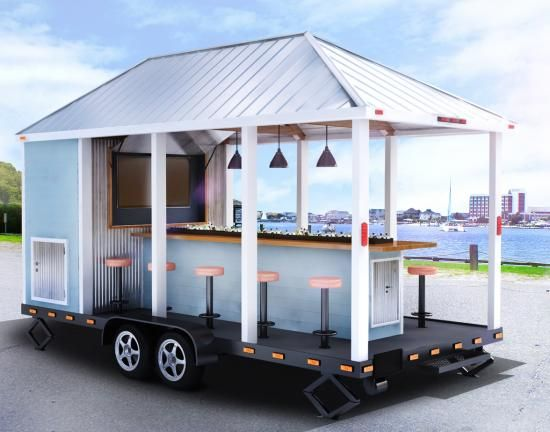 Bar Trailer - cool idea!