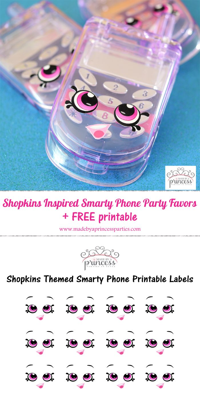Shopkins Inspired Smarty Phone pin it 700