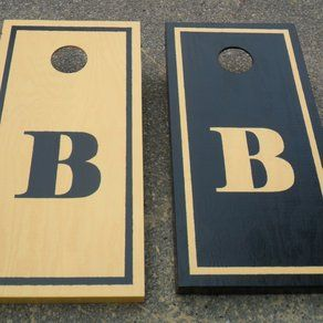 Design Idea For Painting Non Identical Cornhole Boards