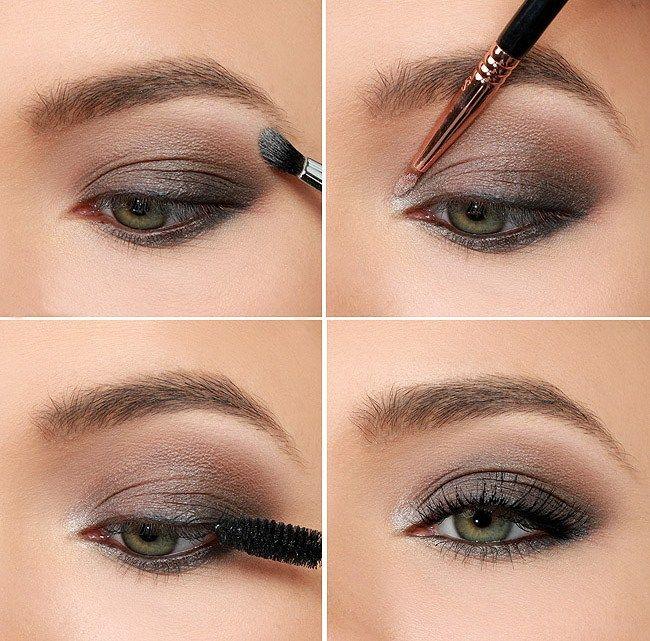 awesome Красивый макияж смоки айс для зеленых глаз (50 фото) — Дневной и вечерний мейкап