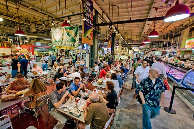 Reading Terminal Market Named One Of The 10 Best Public Spaces In America (Photo by J. Smith for Visit Philadelphia)