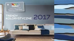 Poznaj najmodniejsze kolory ścian - zapoznaj się z najnowszymi trendami kolorystycznymi na 2017 rok.