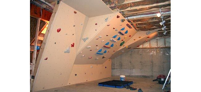 17 best images about indoor rock climbing walls on for Home climbing