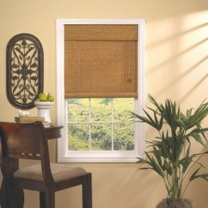 Paper Blinds Walmart Woven Cane Paper Rollup Blind
