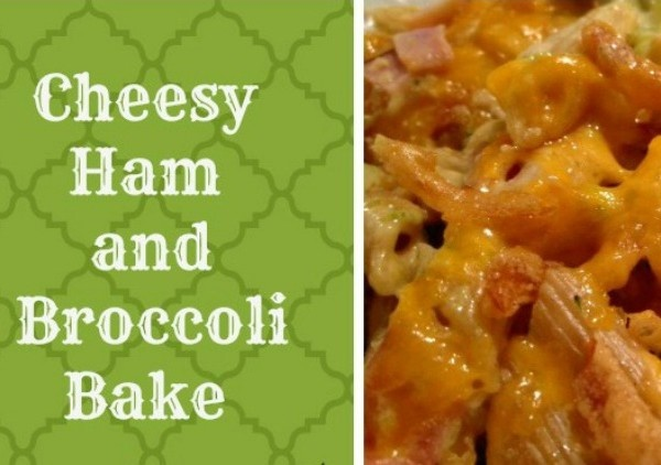 Cheesy Ham and Broccoli Bake - quick and easy and delicious. Get the ...