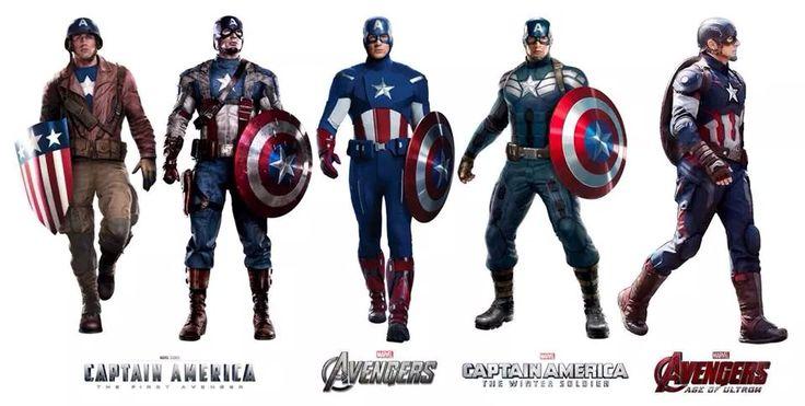 The Evolution of Steve Rogers. | Marvel Studios ...