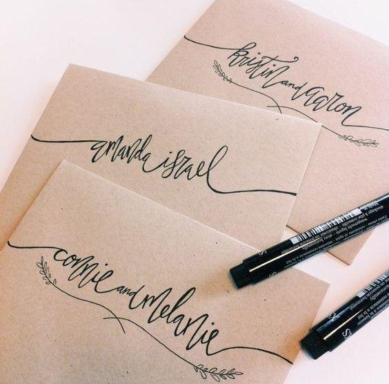 Existem muitas dúvidas s sobre endereçamento ou a forma de escrever nos convites de casamento. Acredite, isso é simples. Acho que mais que a caligrafia do envelope.