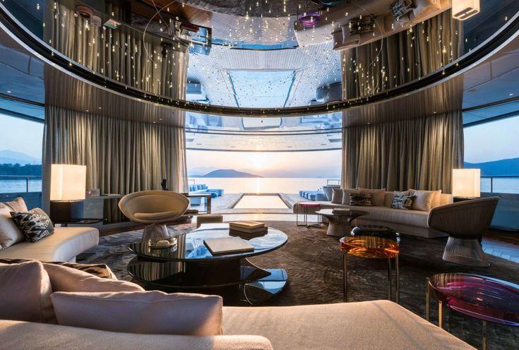 102 best yacht interior design images on pinterest yacht interior