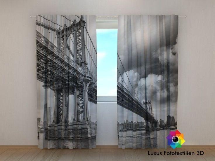 37 best Panoramic photocurtains, Cities images on Pinterest - schlafzimmer günstig online kaufen