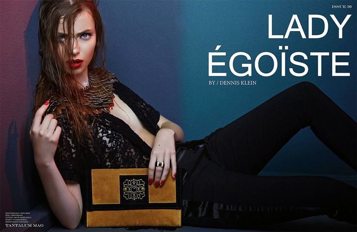 LADY ÉGOÏSTE by Mayte Luengo on Behance