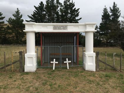 Memorial Arch in Awahou - Historypin | Walking with an Anzac