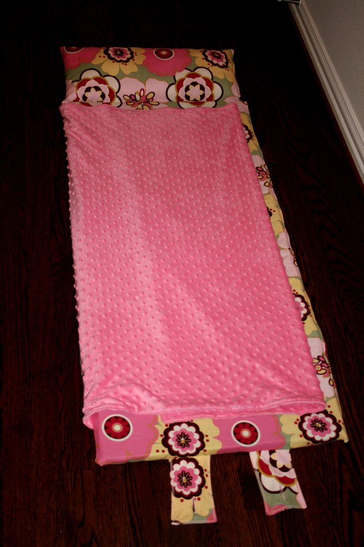 Jenny Garland Nap Mat Tutorial...You can order the foam from Walmart.com and it is enough for 2 mats. I also found it was easier to have the bottom velcro instead of down the one side. My boys LOVE their nap mats though!