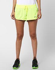 Short Nike Gym Reversible - Verde Limão+Preto 47,92
