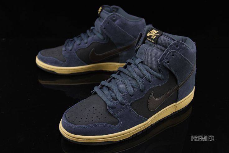 """Nike SB Dunk High """"Charcoal"""" (Now Available)"""