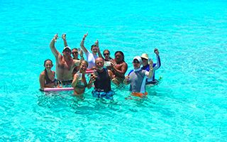 Discover El Cielo Cozumel, which is the mosty spectacular place in the Caribbean. Cozumel Cielo have crystal clear water that is 3-4 ft and is the best place to relax and have some drinks is with our Exclusive Cozumel Snorkel & Cielo tour: http://cozumelcruiseexcursions.net/cozumel-snorkel-cielo-party-tour.html You may read our guide on what to do in Cozumel here: http://cozumelcruiseexcursions.net/what-to-do-in-cozumel.html