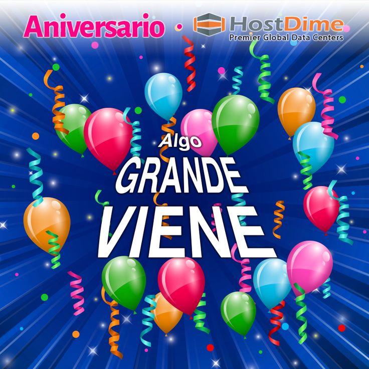 Se viene el octavo aniversario de #HostDime #Colombia