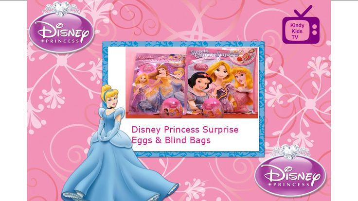Disney Princess. Surprise Eggs.