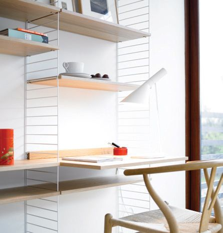 Minimalist Scandinavian Shelves and Cabinets System That Attracts Attention for 60 Years