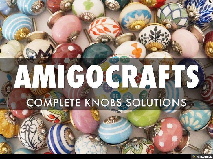 AMIGOCRAFTS by amigo crafts via slideshare