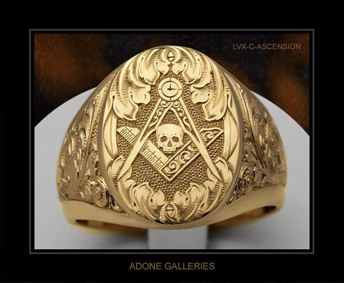 I always thought that having a skull on the ring is giving off the wrong impression. Life is short though, it's a good symbol.