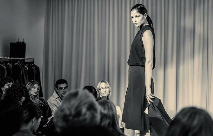 Jacqueline Conoir Fall 2013. Sleeveless Blouse with Gathers at Neckline: $62