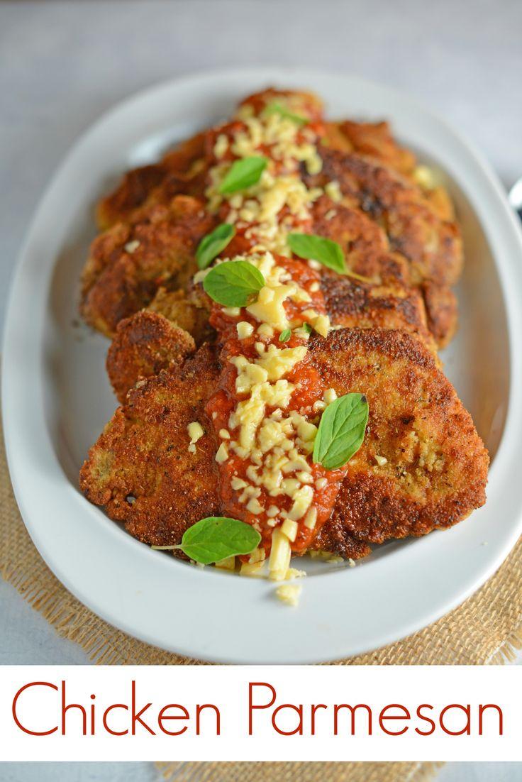Chicken Parmesan Recipe- The BEST Chicken Parmesan ...