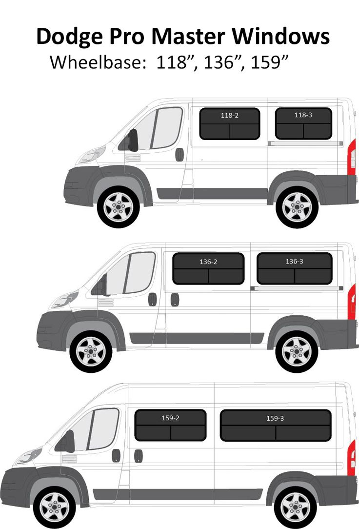 Ram Promaster Van Conversion Windows Cargo Van