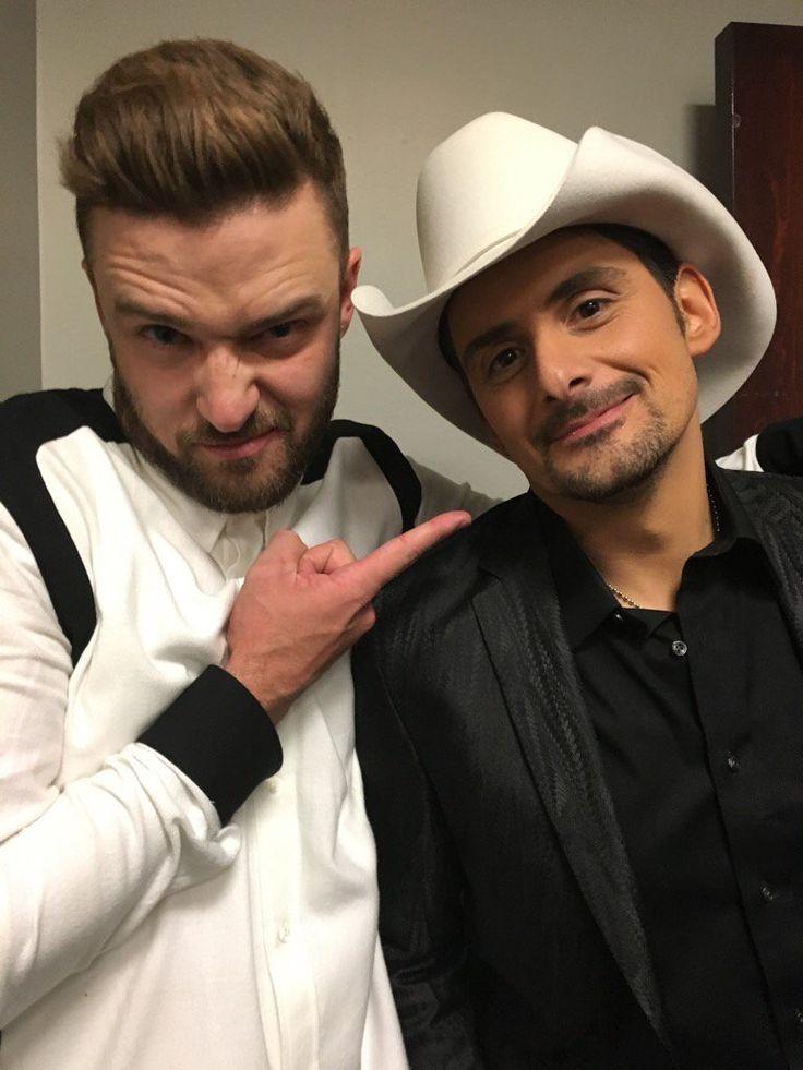 Justin Timberlake & Brad Paisley