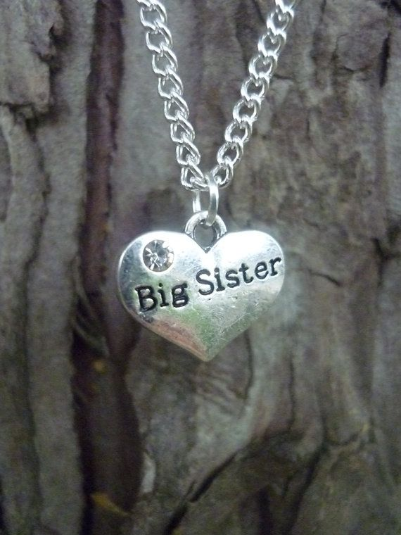 Collana di sorella regalo per la sorella sorella grande