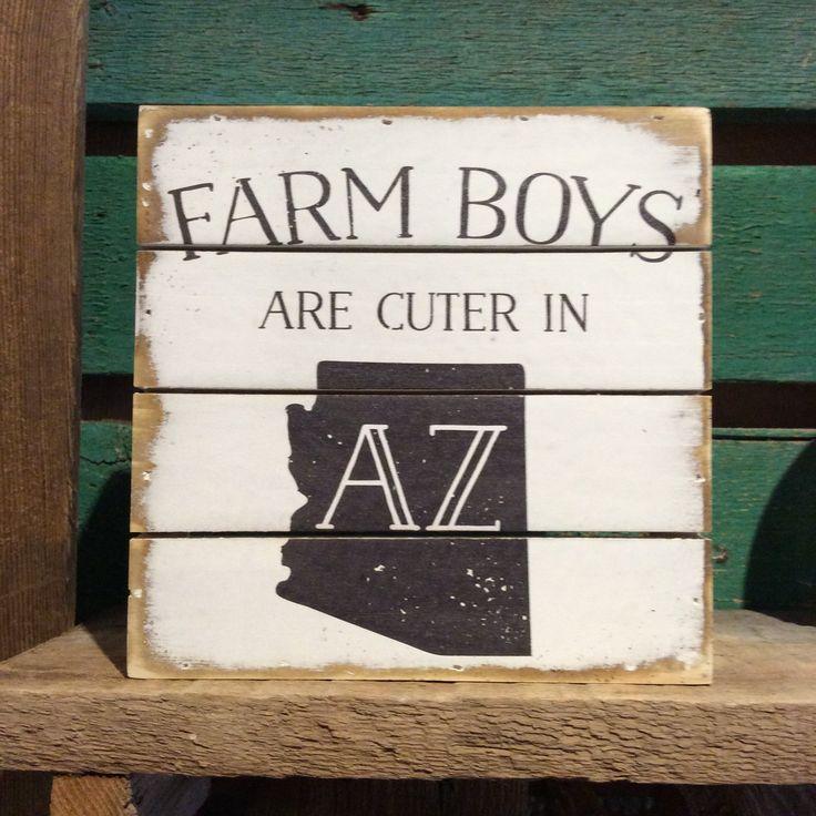 Sincere Surroundings® Wooden Pallet Sign - Farm Boys AZ