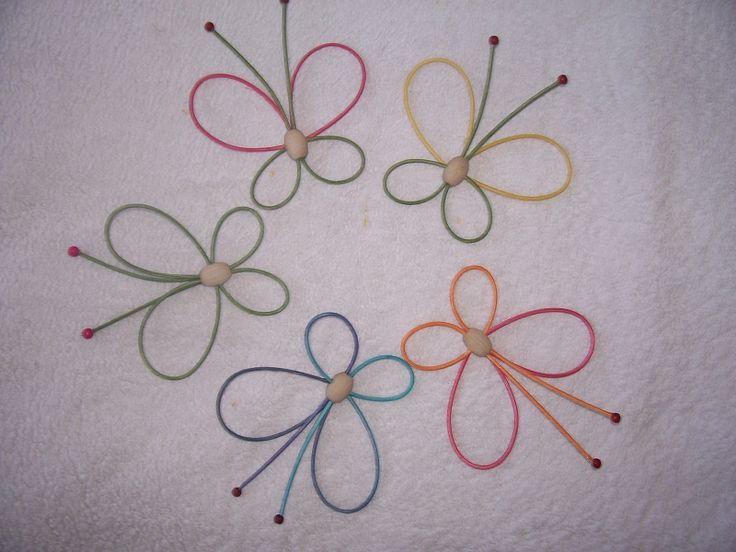 KORÁLEK DŘEVĚNÝ ovál - na motýlka | pedig, dýnka, korálky, ubrousky,koše, kurzy, fotonávody