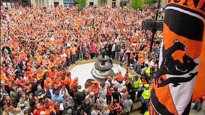Scottish Cup final: Plans made for Dundee United open top bus parade - BBC News