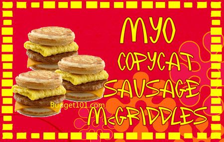 Homemade McDonalds McGriddles Copycat Recipe