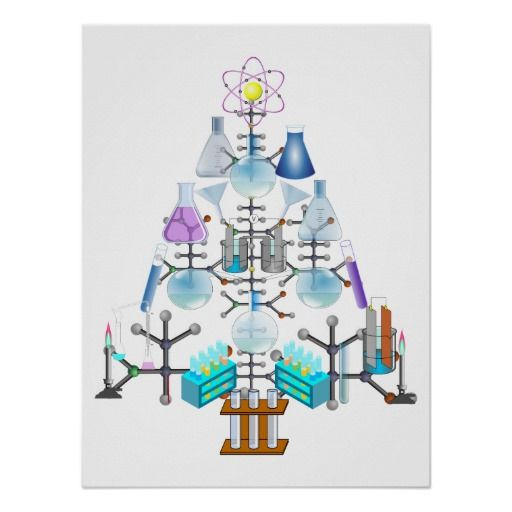 The Song Oh Christmas Tree: Oh Chemist Tree, Oh Christmas Tree Poster