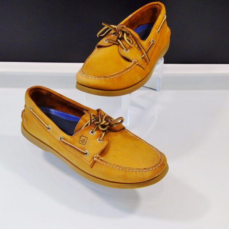 Authentic Original  Eye Boat Shoe Mens Sahara